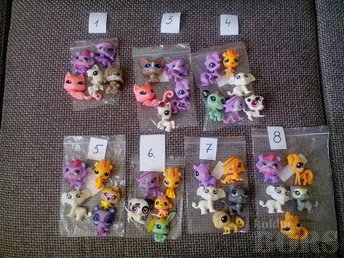 LITTLEST PET SHOP KUJUKESED 5TK