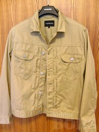 TOMPAN MENS DENIM JACKET SIZE L