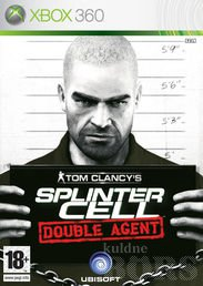 TOM CLANCYS SPLINTER CELL DOUBLE AGENT XBOX 360