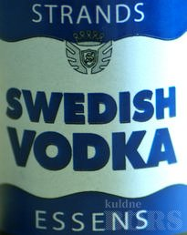 SWEDISH VODKA ESSENTS