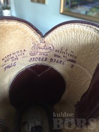 "JUSTIN ""BOOTSID"" MADE IN USA"