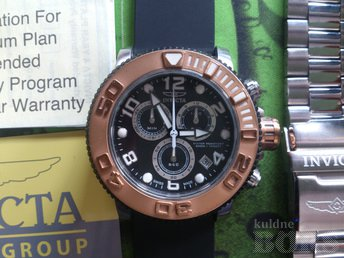 KELL INVICTA 12533 PRO DIVER SEA HUNTER CHRONOGRAPH
