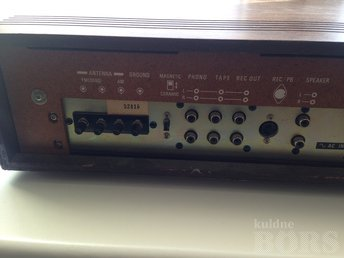 SONY HST 139 SOLID STATE RECEIVER