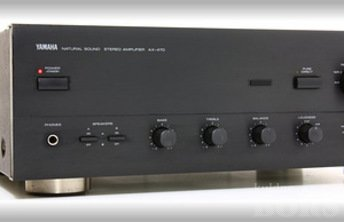 YAMAHA AX-470 STEREO INTEGRATED AMPLIFIER