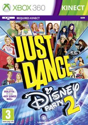 JUST DANCE DISNEY PARTY 2 XBOX 360 KINECT