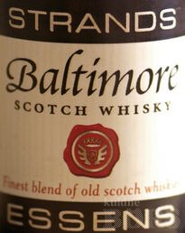 BALTIMORE SCOTCH WHISKY ESSENTS