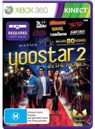 YOOSTAR 2 IN THE MOVIES XBOX 360 KINECT