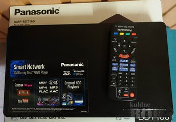 PANASONIC BLURAY DVD MÄNGIJA DMP-BDT160 SMART NETWORK 3D