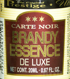 CARTE NOIR DE LUXE BRANDY ESSENTS