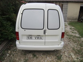 VW CADDY KASTEN 1.39 44 kW