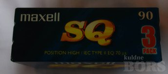 MAXELL 90 SQ CHROME HIGH POSTION 3 PACK