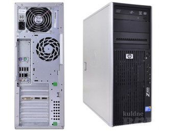HP Z400 WORKSTATION, QUADRO 4000