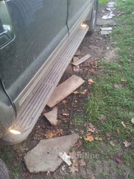 FORD EXCURSION -00: ILLUMINATED STEP BOARDS