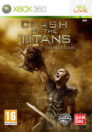 CLASH OF THE TITANS THE VIDEOGAME XBOX 360