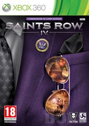 SAINTS ROW IV 4 XBOX 360