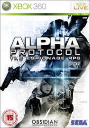 ALPHA PROTOCOL THE ESPIONAGE RPG XBOX 360