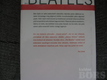 THE BEATLES-ANSAMBLI LUGU.BOB SPITZ,2010.A.1000 LK.