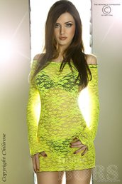 YELLOW LONG SLEEVE BABYDOLL