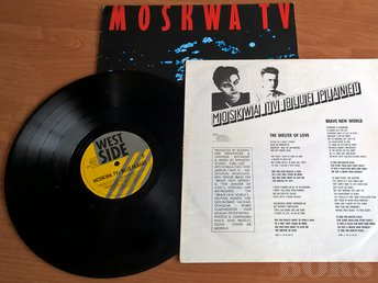 LP - MOSKWA TV - BLUE PLANET- RELEASED ON 1987. STYLE: SYNTH-POP