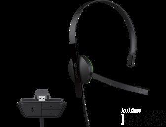 XBOX ONE CHAT HEADSET KÕRVAKLAPPID