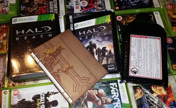 XBOX 360 HALO REACH - LIMITED EDITION BOX