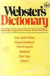 WEBSTER´S DICTIONARY