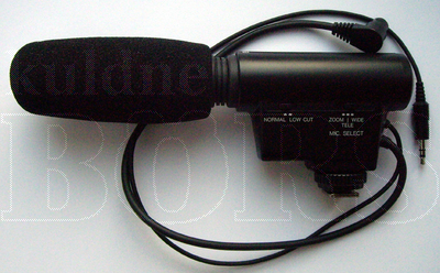 PANASONIC VW-VMS1E ZOOM MICROPHONE