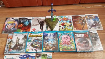 NINTENDO WII, WII U JA 3DS MÄNGUD, WII SPORTS, STAR WARS, NINTENDOLAND, ASSASSINS CREED, EPIC MICKEY JNE