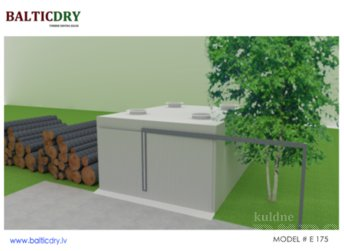TIMBER DRYING KILN E 175