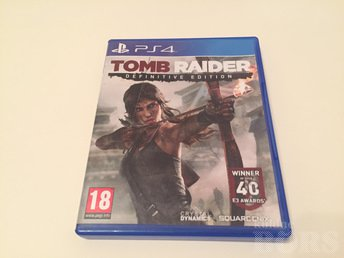 TOMB RAIDER, DEFINITIVE EDITION, (PS4), PLAYSTATION 4