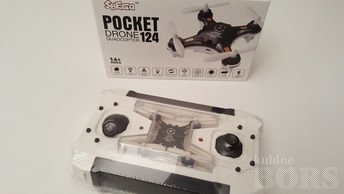 """TASKUDROON"" POCKET-DRONE 124"