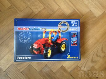 FISHER TECHNIC TRACTORS: Pilt 1