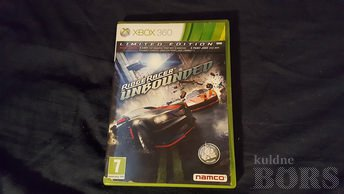 XBOX 360 ORIG. MÄNG RIDGE RACER UNBOUNDED