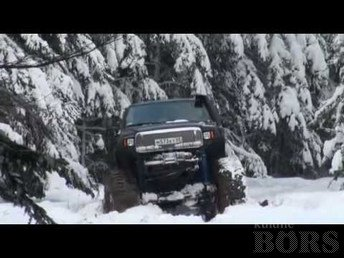 FORD EXCURSION -00: SNOWMAN