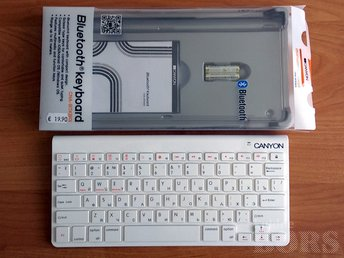 CANYON BLUETOOTH KEYBOARD CNA-BTKB01W-RU