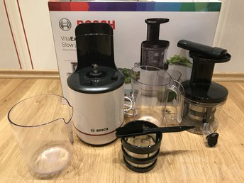 AEGLANE MAHLAPRESS / SLOW JUICER BOSCH VITA EXTRACT: Juicer5