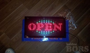 LED TULED REKLAAMI TAHVEL OPEN