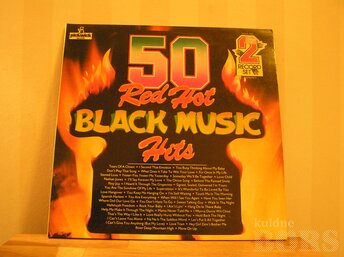 50 RED HOT BLACK MUSIC HITS 2LP