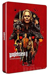 WOLFENSTEIN II THE NEW COLOSSUS PS4 + STEELBOOK