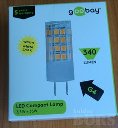 LED COMPACT LAMP G4 3,5W 340 LUMEN