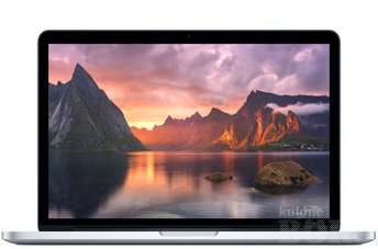 13'' SÜLEARVUTI APPLE MACBOOK PRO A1502 EMC2875, - 2,7GHZ CORE I5 - SSD 120GB - GARANTII
