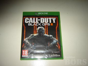 XBOX ONE ORIG. MÄNG CALL OF DUTY BLACK OPS 3