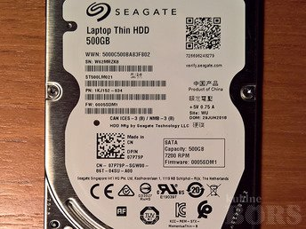 "500GB 2.5"" SEAGATE 7200 RPM 32MB CACHE SATA 6.0GB/S ST500LM021 HDD 7MM"