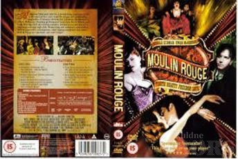 MOULIN ROUGE DVD - 2 PLAATI