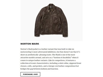 NORTON MARK JACKET L