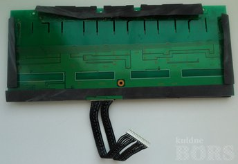 INVERTER BOARD TOKO 14-60230049 250000003500 TV SPARES