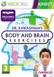 DR KAWASHIMAS BODY AND BRAIN EXERCISES XBOX 360 KINECT