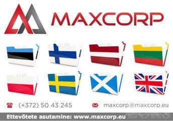f9fd34a9ef6 ROOTSI VALMISFIRMA JA MAKSUREGISTRID: Ettevõtte asutamine Rootsis,  www.maxcorp.eu