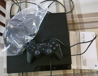 PS3 SLIM 320GB + PULT JA MÄNG