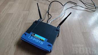 RUUTER LINKSYS - 2,4 GHZ